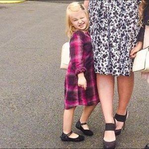 Baby Gap Girl Plaid Dress 5T